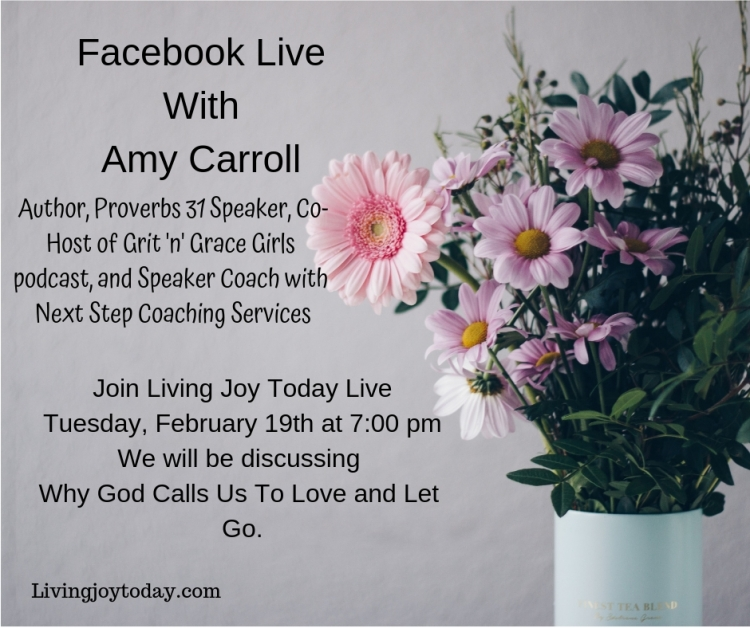 Facebook Live With Amy Carroll